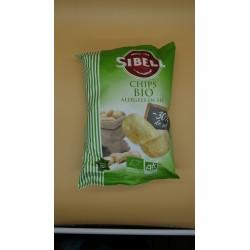 Chips bio allégées en sel