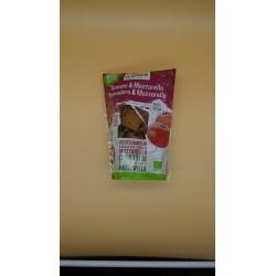 Mini Crackers Tomate Mozzarella