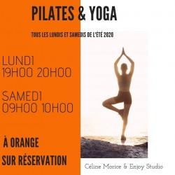 Séance 1h Yoga & Pilates en extérieur à Orange