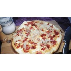 Flammekueche Chorizo-Gorgonzola