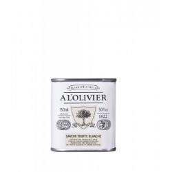 Huile d'olive truffe blanche (150g)