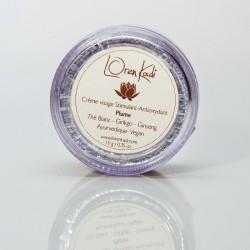 Crème Ayurvédique pour visage Plume - Thé Blanc, Ginkgo et Ginseng