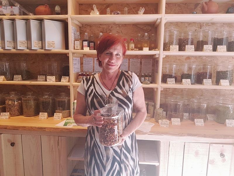 les thé en vrac chez Maryse de Cocoon'age à Orange