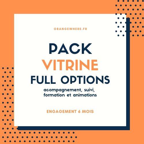 Pack Vitrine Full Options OrangeWhere